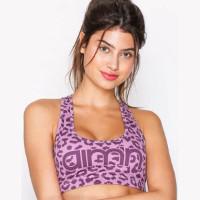 Aimn Cheetah Bra