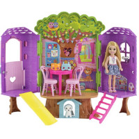 Trehytte til Barbie