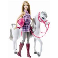 Barbie Rytter med hest