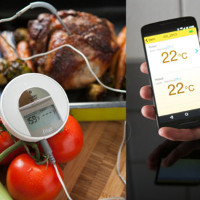 Bluetoothkoblet Steiketermometer