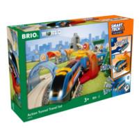 Brio Action Tunnel Travel Set