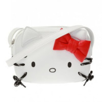 Balenciaga White Cross Kitty Shoulder Bag