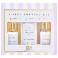 DeoDoc Fresh Coconut 3-Step Shaving Kit