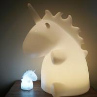 Sjarmerende enhjørning-lamp