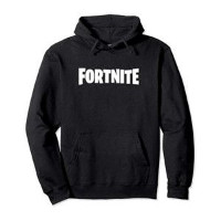 Fortnite Black Logo Hoodie