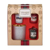 Giftset Yankee Candle 3 Votive and Holder