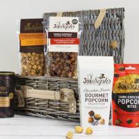 Joe & Sephs popcorn whisky & sjokolade-gavekurv