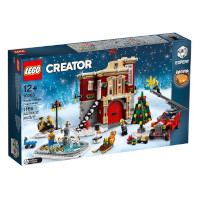 Lego Vinterlandsbyens Brannstasjon