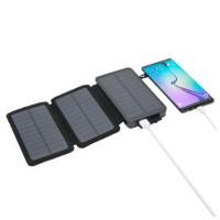 Linocell Powerbank med solcellelading