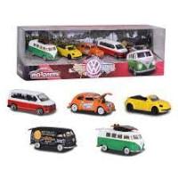 Majorette Volkswagen 5 stykker