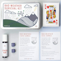 Mens Society Bad Weather Survival Kit