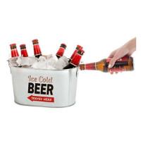 Øl-cooler med flaskeåpner