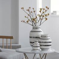 Omaggio vase Sølv