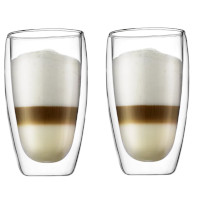 Pavina glass med dobbelt vegg 2 pakn.