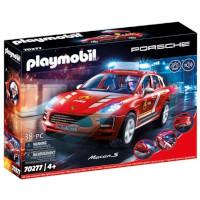 Playmbil Porsche Macan S Fire Brigadge