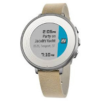 Smart klokke med rund e-papirskjerm