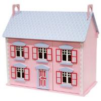 STOY Dukkehus med møbler