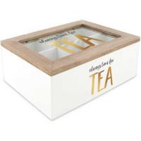 Oppbevaringsboks for te og teposer