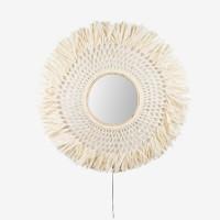 Vegglampe Boho Speil